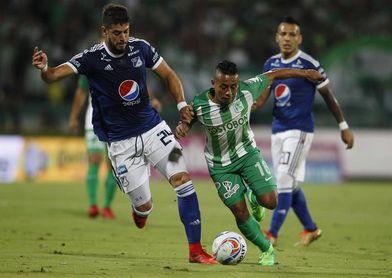 Uruguayo De los Santos da el triunfo a Millonarios en la Liga colombiana