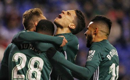El Betis, ocho jornadas entre los diez primeros y cinco en Europa