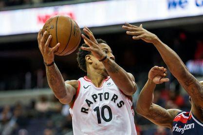 115-112. DeRozan y los Raptors suman la sexta victoria consecutiva