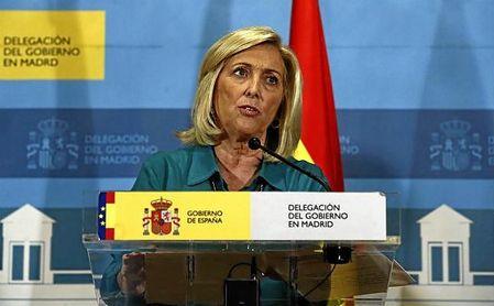 Concepción Dancausa, delegada del Gobierno en Madrid.