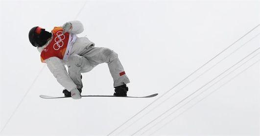 El ´tomate volador´ agranda su mito con un tercer oro olímpico en ´halfpipe´