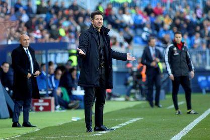 LaLiga denuncia cánticos ofensivos de aficionados del Málaga ante Atlético