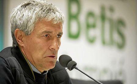 Setién no ha dejado claro si mantendrá el sistema ante el Madrid.