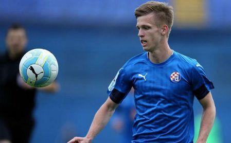 El español Dani Olmo es uno de los mejores jugadores del Dinamo de Zagreb.