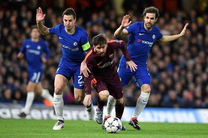 1-1. Messi rescata al Barcelona en Stamford Bridge