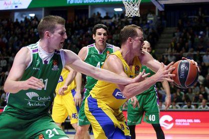 83-69. Unicaja doblega al Maccabi y sigue con vida en la Euroliga