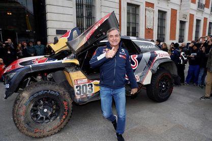 """Carlos Sainz: """"Me hubiera dado mucha rabia no ganar el Dakar con Peugeot"""""""