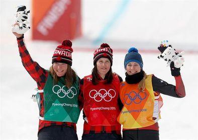 Kelsey Serwa logra oro al encabezar doblete canadiense en el skicross