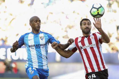 El Athletic, aún conmocionado, espera reaccionar ante un Málaga al límite
