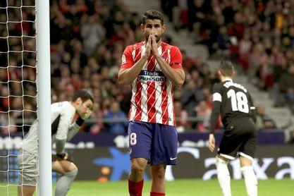 Diego Costa, diez goles en doce duelos contra el Sevilla