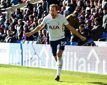 Kane rescata al Tottenham en Crystal Palace (0-1)