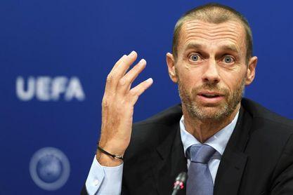 """Ceferin invita a hacer que """"el fútbol europeo sea todo lo grande posible"""""""