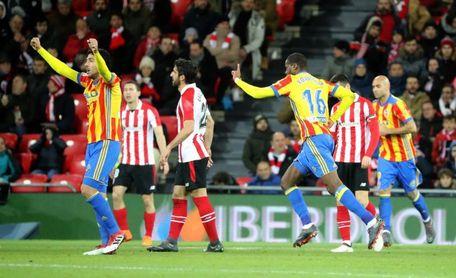 1-1. Athletic y Valencia firman un empate insuficiente para ambos