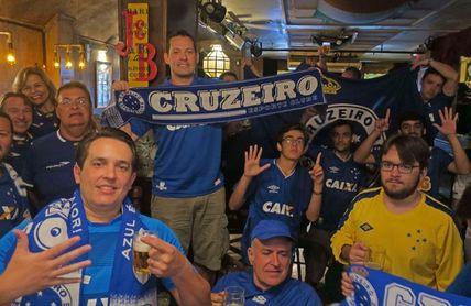 El Cruzeiro tiene en Argentina una extensión de su familia futbolera