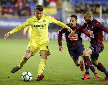 1-0. El Eibar vence al Villarreal, al que ya tiene a tres puntos