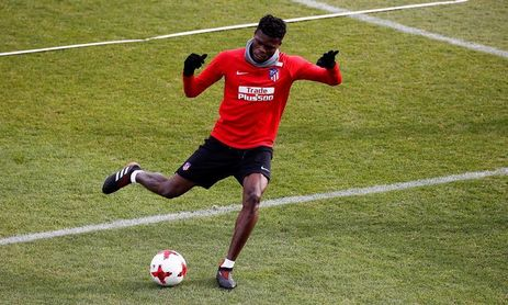 El Atlético de Madrid amplía el contrato de Thomas hasta 2023