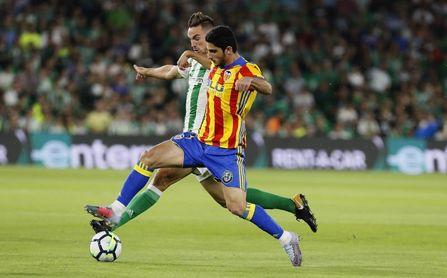 El Betis ha sumado en sus dos últimas visitas a Mestalla