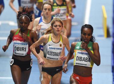 Dibaba, Lasitskene y Lysenko se coronan el primer día en Birmingham