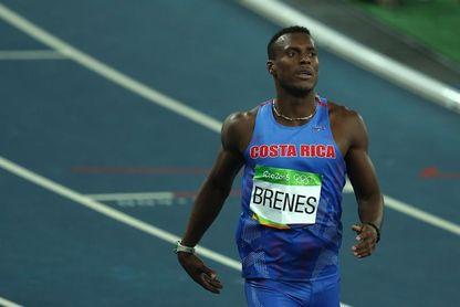 El costarricense Nery Brenes a semifinales de 400 con 46.58