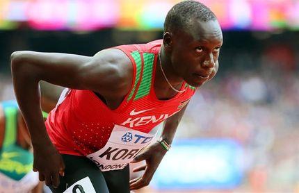 Emmanuel Korir, favorito en 800, baja en el Mundial por problemas de visado