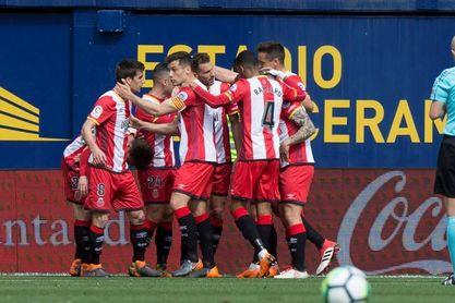 0-2. El Girona sorprende al Villarreal y se acerca a Europa