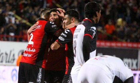 El ecuatoriano Miller Bolaños marca en goleada del Tijuana sobre Lobos BUAP