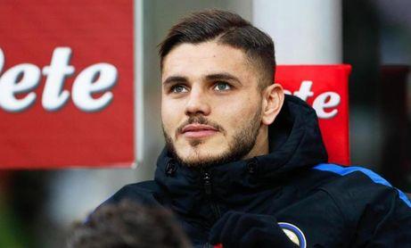 Icardi, listo para el derbi de Milán