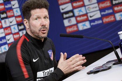 """Simeone: """"Hemos hecho que la Liga no sea imposible, porque la hemos ganado"""""""
