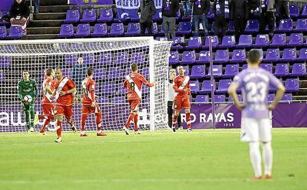 Valladolid y Rayo empataron desde el punto de penalti.