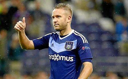 Capel está libre, desde que abandonase el Anderlecht en agosto de 2017.