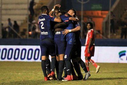 Motagua empata con Real Sociedad y permanece en la cima en Honduras