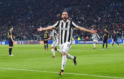 Higuaín se entrena con el grupo en la víspera del Tottenham-Juventus
