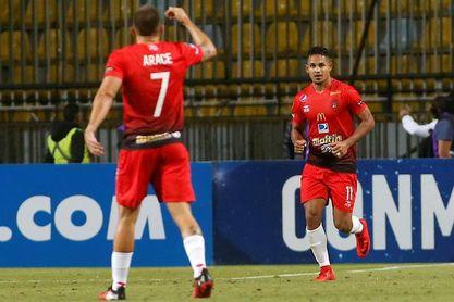 0-1. Everton gana en Venezuela, pero el boleto a la segunda fase es del Caracas