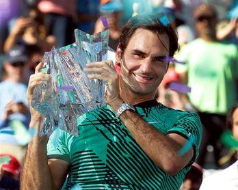Federer debutará frente a Ryan Harrison o el argentino Delbonis