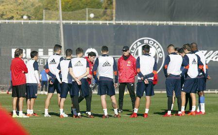 El Valencia podría tener una baja importante ante el Sevilla