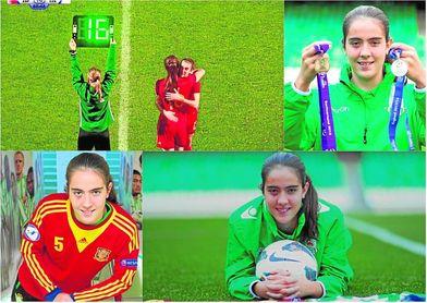 El minuto 89 del España-República Checa no se le olvidará jamás a Rocío Gálvez, por ser el momento de su debut con la absoluta.