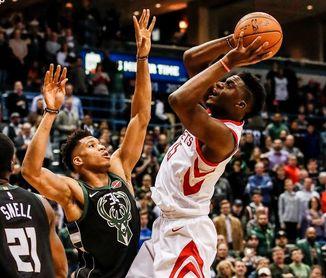Rockets y Pelicans siguen con rachas ganadoras; vencen Raptors y Cavaliers