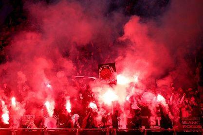 Siete ultras del PSG sancionados por llevar bengalas en el PSG-Real Madrid