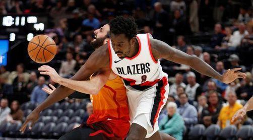 Raptors y Trail Blazers ganan sus duelos de líderes ante Rockets y Warriors