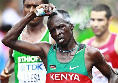 El keniano Kiptanui y la etíope Woldu ganan el medio maratón de Lisboa