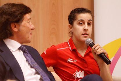 Carolina Marín encabeza la decena de españoles que competirán en los Europeos de Huelva