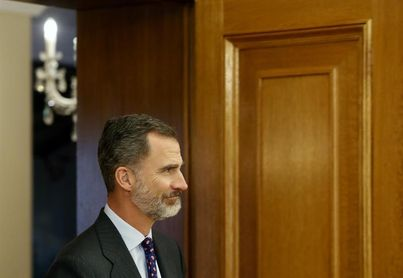 """Felipe VI felicita a Santacana y Galindo: """"Seguís superando todos los retos"""""""
