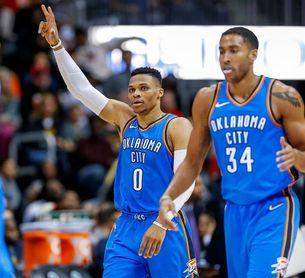 107-119. Westbrook llega a su triple-doble número 100 en triunfo de Thunder