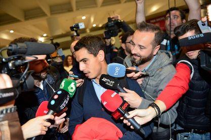 El Sevilla, aclamado a su llegada a San Pablo