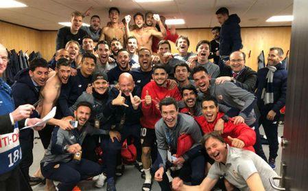 Twitter se llena de felicitaciones al Sevilla