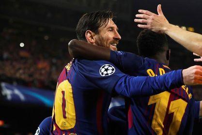 """Iniesta: """"Es una bendición que esté Messi"""""""
