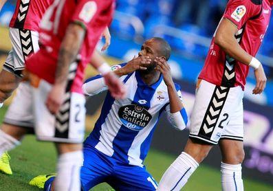 """Sidnei admite que el partido ante Las Palmas es """"una final"""" para el Dépor"""