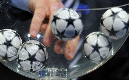 Horario y televisión del sorteo de cuartos de final de la Champions League