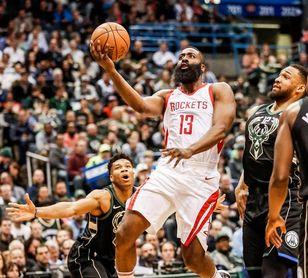 101-96. Harden y Gordon mantienen a Rockets ganadores y mejor marca de la NBA