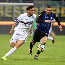 La visita del Inter al fortín del Sampdoria destaca en la jornada de Serie A